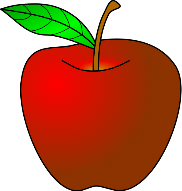 Apple Open Apple Fruit Transparent Background PNG Clipart
