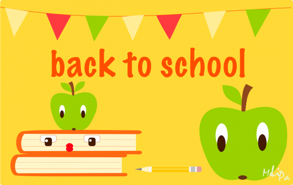 Apple Text Free School Line Transparent Background PNG Clipart