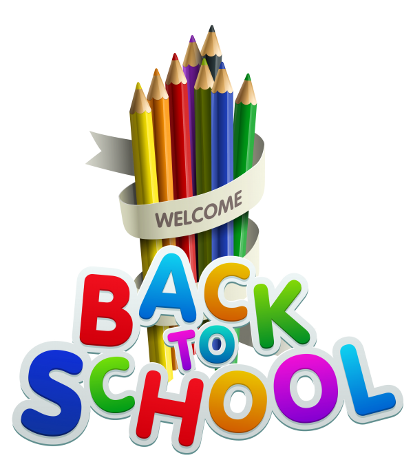 Welcome Back State School First Day Of School Pencil Transparent Background PNG Clipart