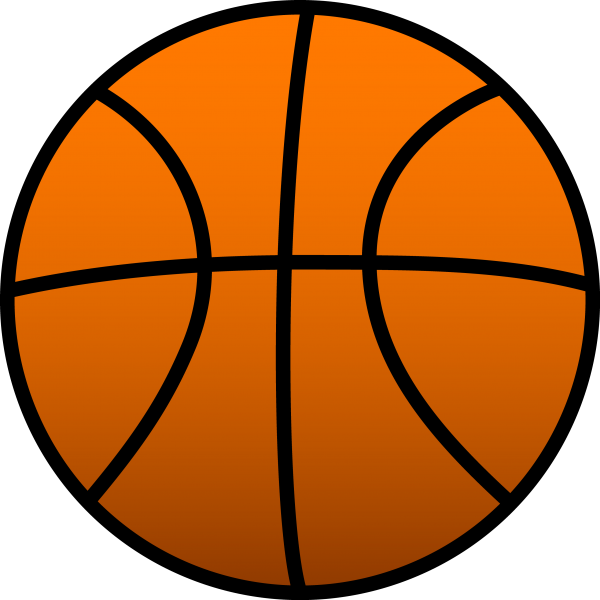 Open Basketball Court Sports Line Transparent Background PNG Clipart