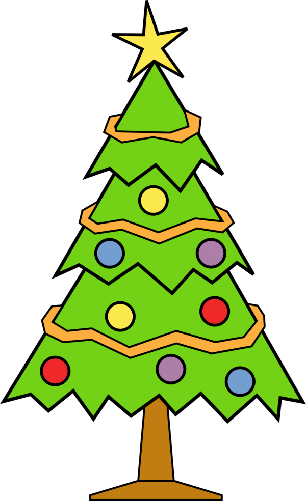 Christmas Day Christmas Decoration Christmas Tree Oregon Pine Transparent Background PNG Clipart