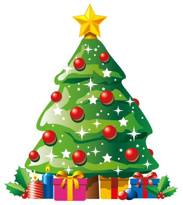 Christmas Tree Artificial Christmas Tree Christmas Day Oregon Pine Transparent Background PNG Clipart