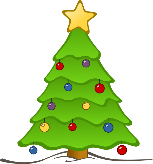 Tree Christmas Day Christmas Tree Oregon Pine Transparent Background PNG Clipart