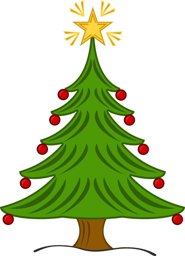 Christmas Tree Open Christmas Decoration Christmas Tree Transparent Background PNG Clipart