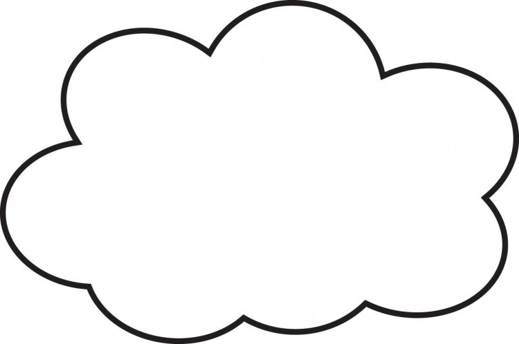 Clip Art Stock  Cloud Line Art Transparent Background PNG Clipart