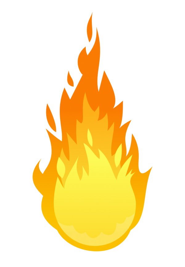 Fire Clip Art Flame Tree Transparent Background PNG Clipart
