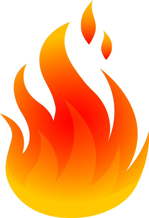 Fire Flame Graphic Design Clip Art Transparent Background PNG Clipart