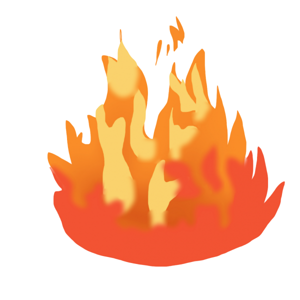 Giphy Cartoon Royalty Payment Fire Transparent Background PNG Clipart