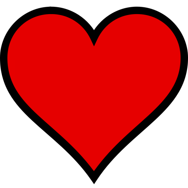 Heart Open Scalable  Heart Transparent Background PNG Clipart