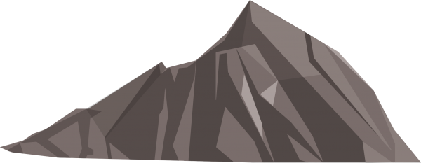 Mountain Scalable  Rocky Mountain Rock Transparent Background PNG Clipart