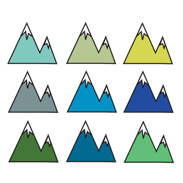 Mountain Website Mountain Range Triangle Transparent Background PNG Clipart