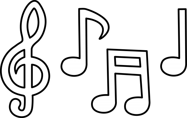 Coloring Book Music Musical Instruments Font Transparent Background PNG Clipart