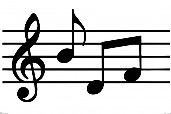 Musical Theatre Eighth Note Art Font Transparent Background PNG Clipart