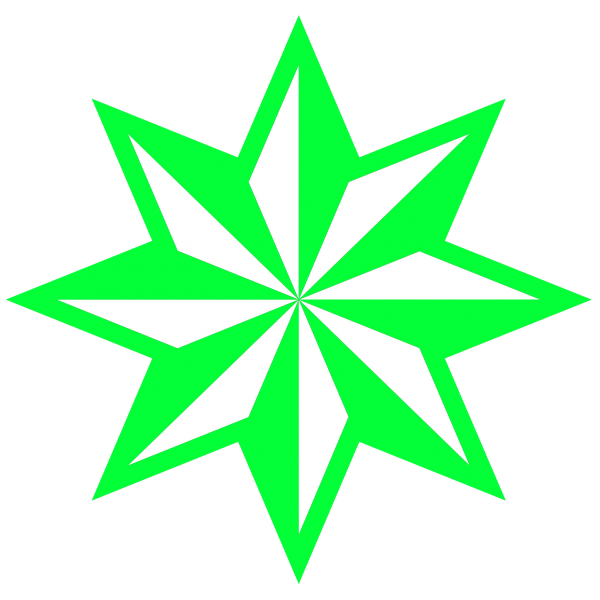 Scalable  Five-pointed Star Clip Art Plant Transparent Background PNG Clipart