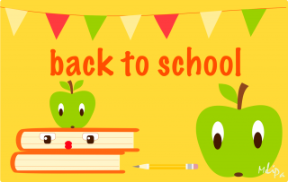 apple, text, free school, line - back to school transparent background PNG clipart thumbnail