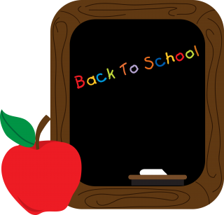 sidewalk chalk, chalk board, blackboard, plant - back to school transparent background PNG clipart thumbnail