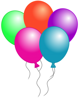 balloon birthday, birthday balloons birthday balloons, open, clip art transparent background PNG clipart thumbnail