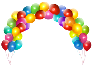 cake, balloon birthday, balloon, architecture transparent background PNG clipart thumbnail