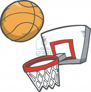 email, ball, open, clip art - basketball transparent background PNG clipart thumbnail