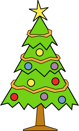 christmas day, christmas decoration, christmas tree, oregon pine - christmas tree transparent background PNG clipart thumbnail