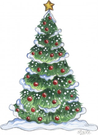 christmas lights, fir, open, holiday ornament - christmas transparent background PNG clipart thumbnail