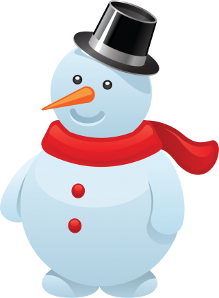 open, gif, snowman, illustration - christmas transparent background PNG clipart thumbnail