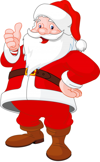 scalable , santa claus, mrs. claus, art transparent background PNG clipart thumbnail