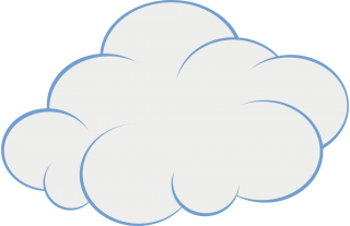 cartoon, scalable , animation, clip art - cloud transparent background PNG clipart thumbnail