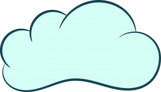 art, cloud, sky, clip art - cloud transparent background PNG clipart thumbnail