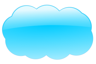 blue, cloud, clip art, sky - cloud transparent background PNG clipart thumbnail