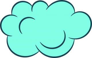 clip art, cloud, sky, turquoise - cloud transparent background PNG clipart thumbnail
