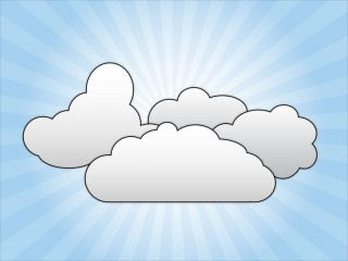 clip art, email, document, meteorological phenomenon - cloud transparent background PNG clipart thumbnail