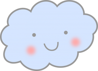 cuteness, line art, computer icons, cloud - cloud transparent background PNG clipart thumbnail