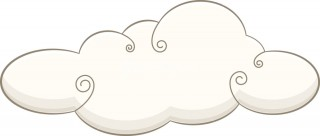 line art, clip art, sketch, line art - cloud transparent background PNG clipart thumbnail