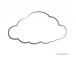 page, weather, rain, line art - cloud transparent background PNG clipart thumbnail