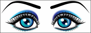 black eye, presentation, eye, eyebrow transparent background PNG clipart thumbnail