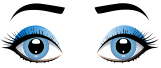 eye, female, girl, clip art transparent background PNG clipart thumbnail