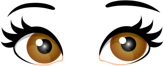 eyebrow, open, color, iris - eyes transparent background PNG clipart thumbnail