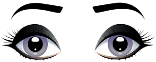 female, human eye, eyebrow, organ transparent background PNG clipart thumbnail