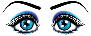 woman, girl, eyebrow, cosmetics - eyes transparent background PNG clipart thumbnail