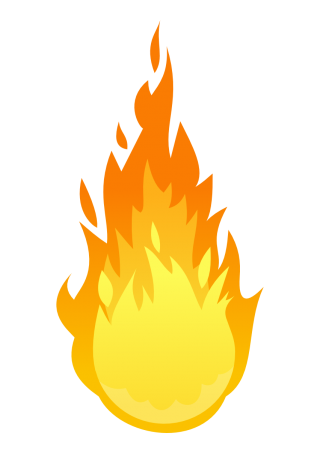 fire, clip art, flame, tree transparent background PNG clipart thumbnail