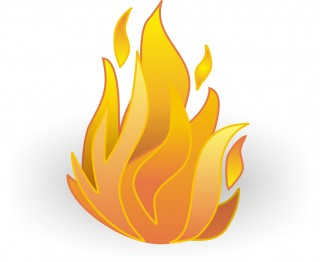 flame, gif, fire, petal - fire transparent background PNG clipart thumbnail