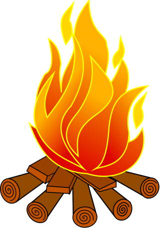 smore, fire, clip art, illustration transparent background PNG clipart thumbnail