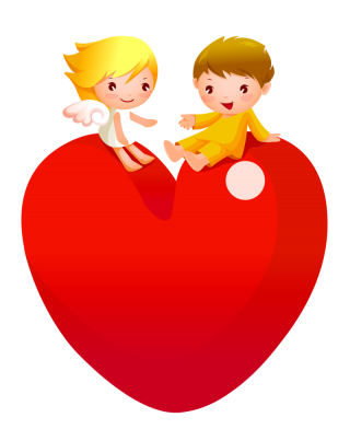 cartoon, humour, romance, happy - heart transparent background PNG clipart thumbnail