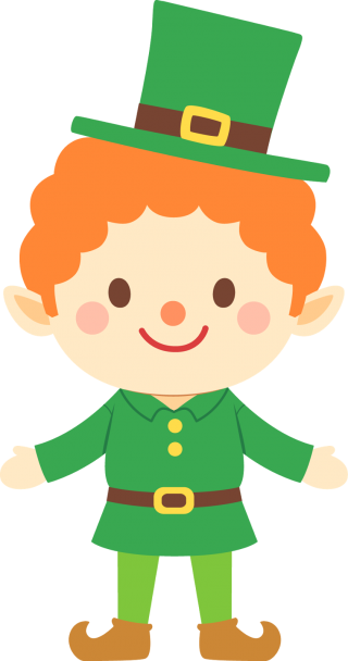 leprechaun, cuteness, saint patricks day, saint patricks day transparent background PNG clipart thumbnail