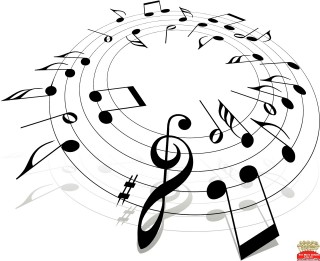 free music, music education, music , line art - music notes transparent background PNG clipart thumbnail