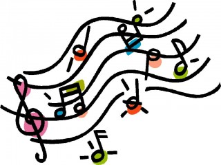 musical note, music, art, clip art - music notes transparent background PNG clipart thumbnail