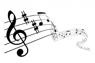 musical theatre, bar, music, clip art - music notes transparent background PNG clipart thumbnail