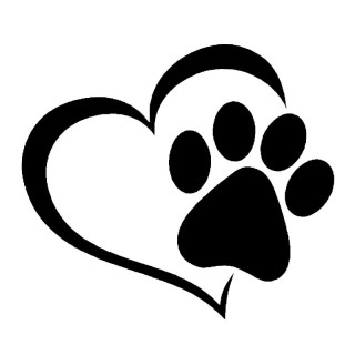 printing, dog, sticker, graphics - paw print transparent background PNG clipart thumbnail