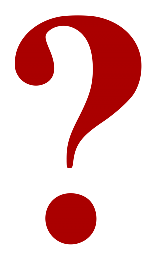 red, question, pdf, symbol - question mark transparent background PNG clipart thumbnail